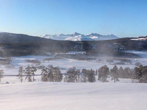 I Folldal ble det natt til søndag målt 27,9 minusgrader.