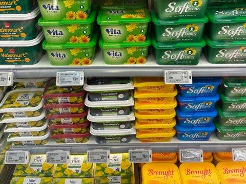 PRISVARIASJONER: Flere, ulike forpakninger av samme produkt, til forskjellig pris, viser Nettavisens undersøkelse. Foto: Halvor Ripegutu