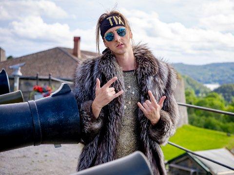 KOMMER TIL ELVERUM: Andreas Haukeland, bedre kjent som «TIX», kommer til Elverum i sommer.