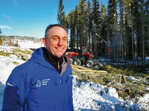 DIREKTØR: Gudmund Nordtun er administrerende direktør i Glommen Mjøsen Skog. Han kan se tilbake på et solid 2020.
