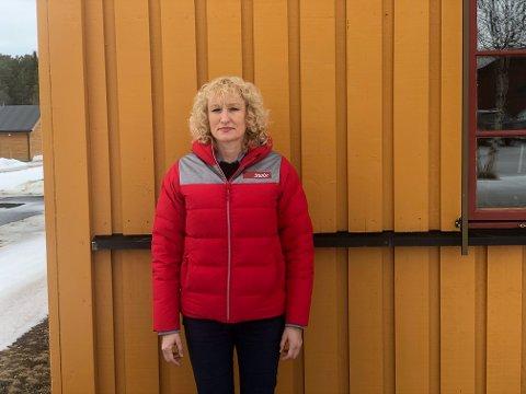 TRAGISK HENDELSE: Runa Finborud, ordfører i Os, takker alle de som sluttet opp om helgas leteaksjon og sier tankene går til de pårørende.