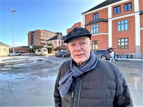 TAKKNEMLIG: - Jeg håper Elverum sjukehus får bestå som akuttsjukehus, sier Per Olai Stømner fra Elverum. Han har bak seg en uvirkelig uke.