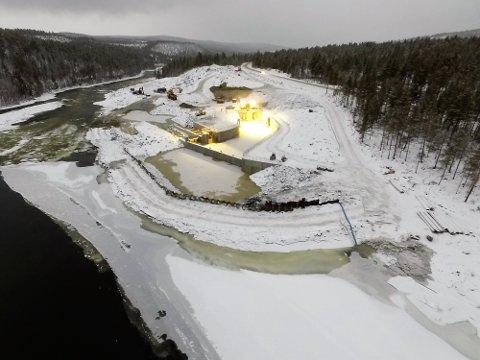 Nå skal Tolga kraftverk testes før det forhåpentligvis er i ordinær drift allerede før sommerferien.