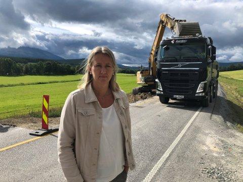 ULYKKESVEG: – Kommunens fokus er å jobbe for utbedringer og trafikksikkerhet på riksveg 3, slik at ulykker i minst mulig grad skjer, sier ordfører Merete Myhre Moen i Tynset.