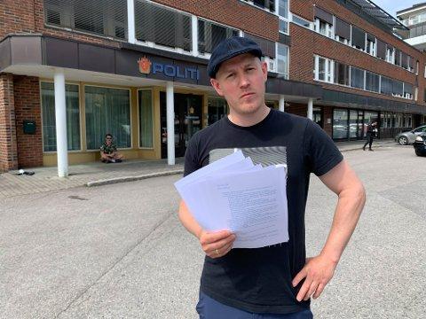 MERKELIG: Chris Klemmetvold Sandvik har fått tilbake pengene fra Airbnb, men synes fortsatt saken er litt merkelig