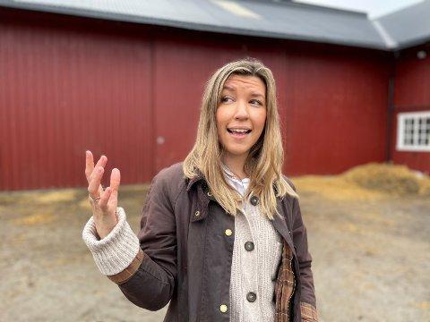 DRØMMELØSNING: Stortingskandidat Anna Molberg (Høyre) håper at det også skal kunne bygges et nytt sjukehus på aksen Hamar og Elverum.