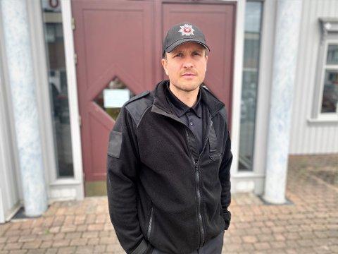 VITNET: Robert Paulsbyen vitnet mot de tiltalte i Strandstykket-saken onsdag. Han forklarte om episoden som utspant seg utenfor Elverum kino 1. juledag 2019.