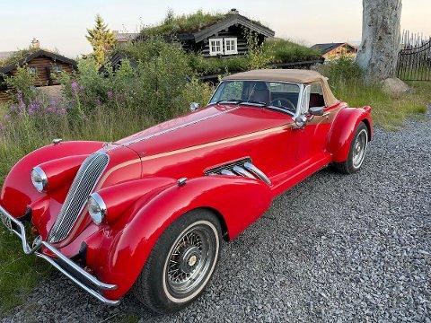 UNIK: Det finnes bare noen få Gatsby-konseptbiler igjen i verden, og Norulf har den eneste i Norge.