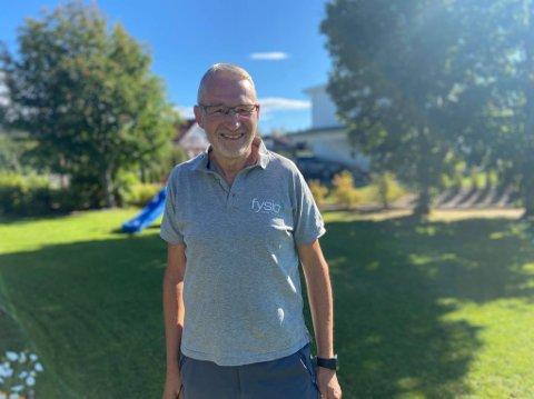 PENSJONERER SEG: Etter snart 40 år som fysioterapeut skal Håkon Morten pensjonere seg. – Jeg har vært veldig fornøyd og tror jeg har passet godt.