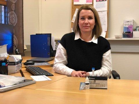 HAR SØKT: Mona Malonæs er i dag leder for teststasjonen i Elverum. Nå har hun søkt seg ny jobb i Elverum kommune. Malonæs opplyser at det ikke er noen dramatikk bak at hun har søkt en ny jobb. Arkivfoto: Truls Sylvarnes
