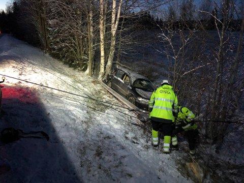 Trafikkulykken skjedde i desember i fjor.