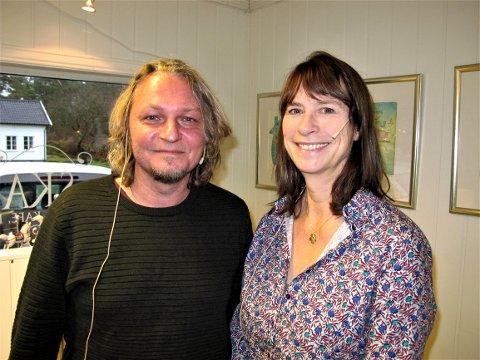 Cecilie Enger samtalte med Terje Floberg, som stilte mange gode spørsmål.