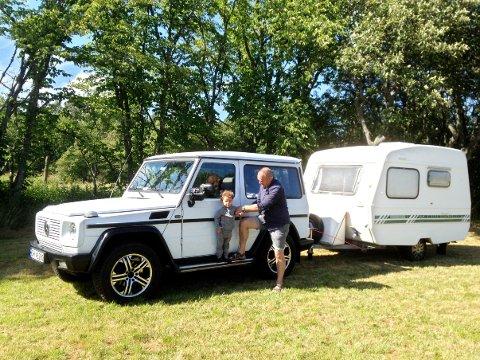Hvis ikke bilen kommer til rette, kan det spøke for campingferien.