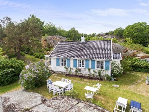 SOLGT: Huset, som tidligere har blitt brukt som losbolig, er nå solgt etter å ha ligget til salgs over to omganger.