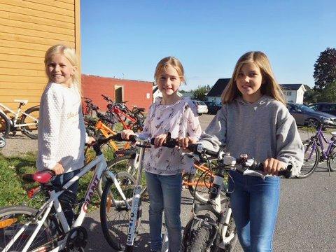 Her er elever fra Føynland skole 4. trinn, som var med på å sikre førsteplassen i konkurransen.