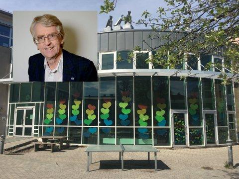Borgheim ungdomsskole opplever plassmangel. - Tjøme ungdomsskole har overkapasitet, og nå er vi én kommune. Da tenker jeg det må være viktig og riktig å se samlet på ungdomsskoletilbudet, sier Gunstein Sundene i Høyre.