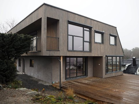 TOPPEN: Funkishuset på Vestsida er ett av de fem som kan få kommunens byggeskikkpris under dagens utdeling.