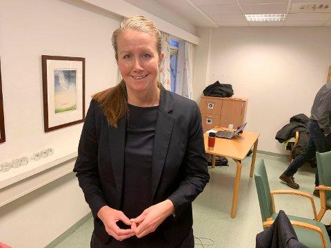 KREVER SVAR: Varaordfører Heidi Herum krever svar fra samferdselsministeren i forhold til penger til avbøtende tiltak i forbindelse med byggingen av ny E18 gjennom Bamble.
