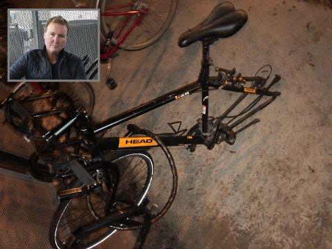 Trym Ulstein ble utsatt for sykkeltyveri nok en gang onsdag.