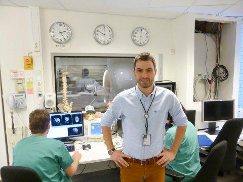 Kyrre Eeg Emblem fra Grønli forsker på hjernekreft. 1. mars mottar han  Forskningsrådets pris for unge fremragende forskere innenfor medisin, helsefag og biologi.