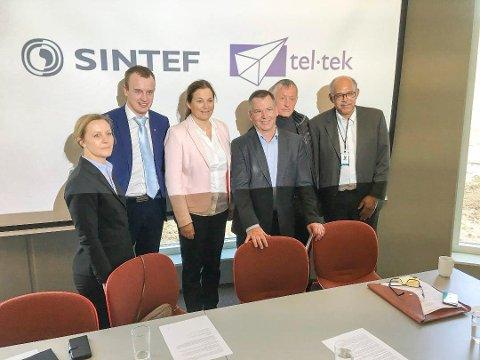 STØTTE: SINTEF Tel-Tek fusjonerte i 2017 og blir sterkere.