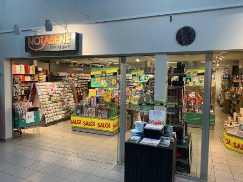 Notabene på Hovengasenteret blir lagt ned etter konkursen i bokhandelkjeden. Fire mister jobbene sine.