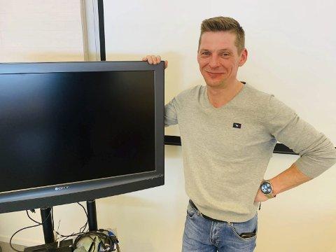 TV-AKSJON: Sigmund Guldbrandsen.