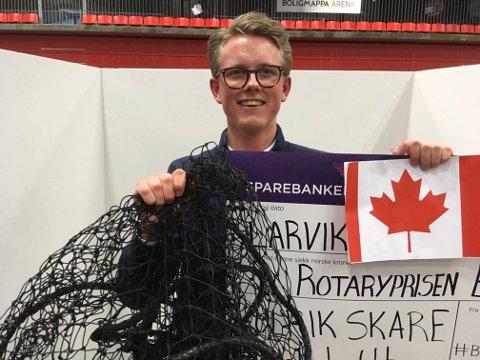 TIL TOPPS: Ulrik Skare ble beste selger og skal til Canada.