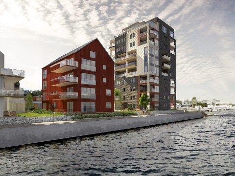 Vraket: Porsgrunnsbaserte Seltor Gruppen AS er vraket som utførende entreprenør på Smietangen. Nå er det isteden Betonmast som skal bygge boligene i Langesund.