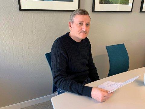 Eiendomssjef Ole Henrik Lia bekrefter at han holder på å lage forslag til leieavtale med Telemark Toppidrett ungdomsskole i Frikslivsenteret på Kjølnes.