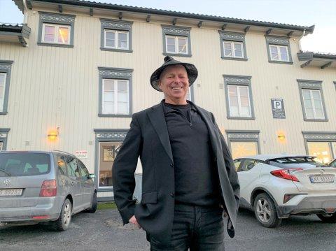 Steinar Sande har bestått etablerer prøven og er klar til å overta når de får grønt lys fra kommunen.