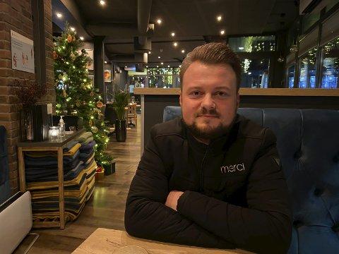 NYTT ÅR: Radek Soltys legger bak seg et krevende år for Merci. Nå velger han å fokusere på å forbedre restauranten og se framover.
