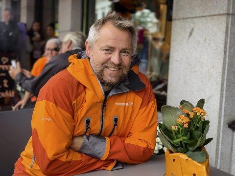 Kjetil Haugersveen kunne juble over tildeling av nesten to millioner kroner til Rocket Man prosjektet tirsdag.