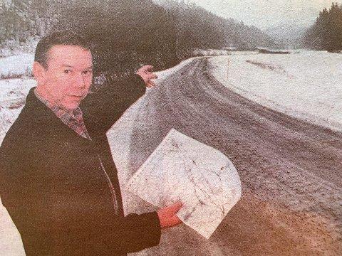 GLAD: Oddbjørn Lia og resten av Langangen vel kan juble etter at NSB har bestemt at jernbanen mellom Larvik og Porsgrunn for det meste skal gå i tunnel.