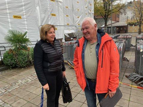 Opposisjonsleder Anne Karin Alseth Hansen (H) var også med på møtet.