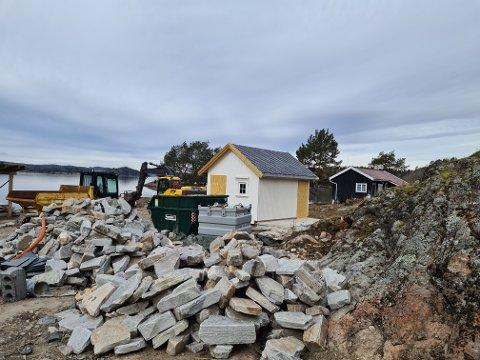 TILSYN: Håøya-eiendommen er under tilsyn.