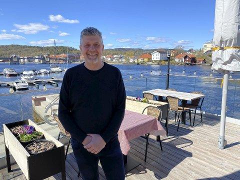 EN GLEDENS DAG: Robert Lind på Øya Spiseri.