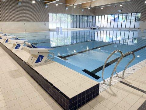 Ny svømmehall på Grasmyr snart ferdig.