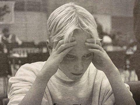 NORGESMESTER: 12 år gamle Joachim Halvorsen Berg-Jensen gikk til topps i lilleputtklassen i landsturneringen i sjakk i Alta.