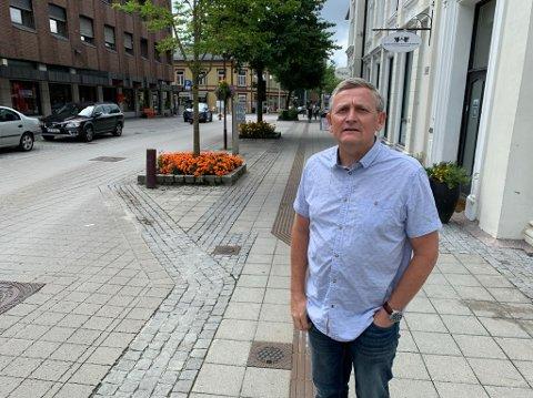 Eiendomssjef Ole Henrik Lia sier alle må betale samme kvadratmeterpris.
