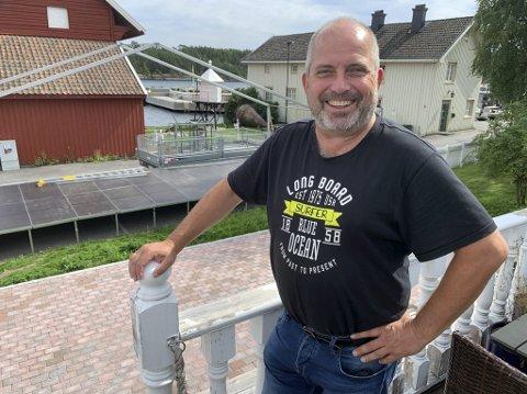 Liv og moro: Vanligvis pleier Langesund Bluegrassfestival til Rune Arctander å trekke rundt 200 publikummere. I år selges det cirka 90 billetter, som følge av pandemien.