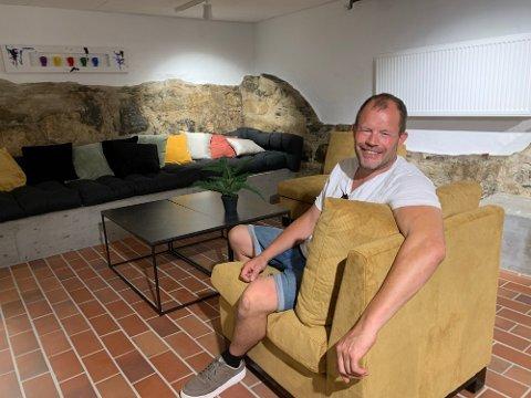 FORNØYD: – Sommeren har levert, og har trua på høsten og 2022, smiler Hans Arne «Hasse» Frøland.