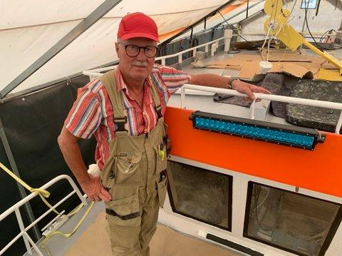 LIDENSKAP: Thor Norling har lidenskap for båter og er opptatt av kystkultur og gammelt håndverk.