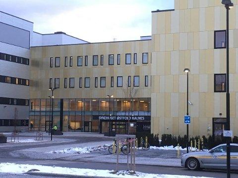 Påminnelse: Har du time på sykehuset på Kalnes (bildet) eller i Moss fredag 18. januar, bær du ta med innkallingsbrevet.