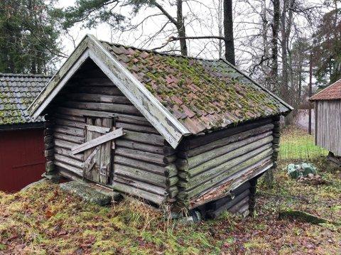 Viktig på gården: Kjona var et tørkehus for korn, malt og lin.
