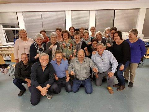 MISTER TALLINN-TUR: Sangkoret Freidig skulle i starten av mai reist på tur til Estlands hovedstad Tallinn - men denne turen er nå avlyst som følge av Korona-viruset.
