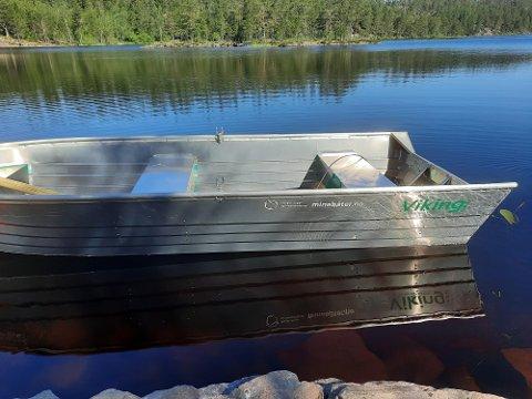 Medlemsbåt: Rakkestad har fått sin egen NJFF-båt.