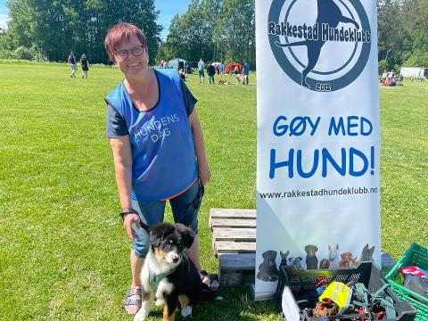 Kurshelg: Førstkommende helg arrangeres det kurshelg for barn og hund på Monserud. Leder i Rakkestad Hundeklubb, Hege Falck-Bilden, tror det kommer til å bli en helg med mye moro.