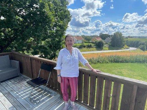Fornøyd med ukene i Rakkestad: Gaby Naus er veldig fornøyd med ukene hun har tilbragt i Rakkestad.