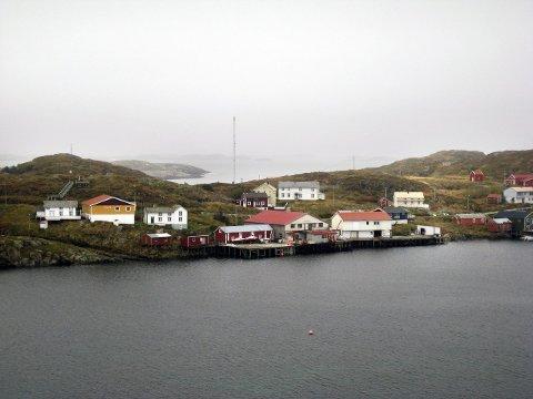 Fiskekaia på Myken. Bildet er tatt ved en tidligere anledning.